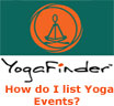 List Yoga Events